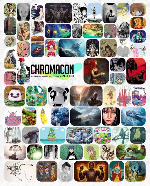 Pikitia Press Blog: Chromacon 2013 Allan Xia Interview