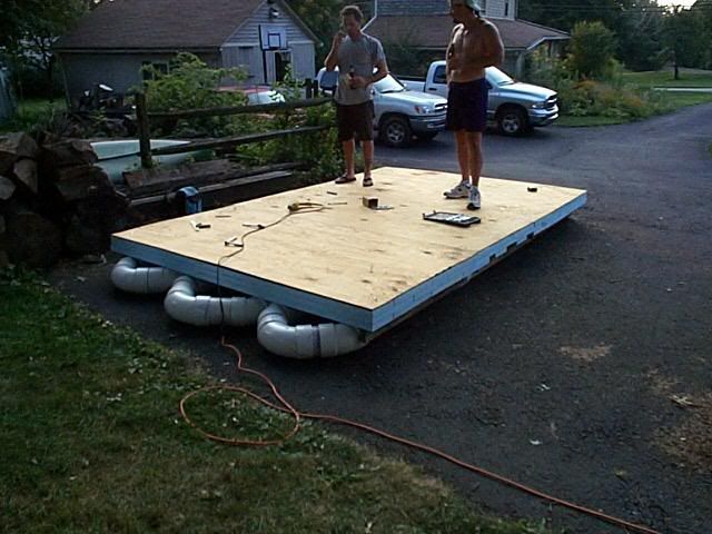 PVC raft? - Boat Design Forums #pvc, #pontoon | Boat Building in