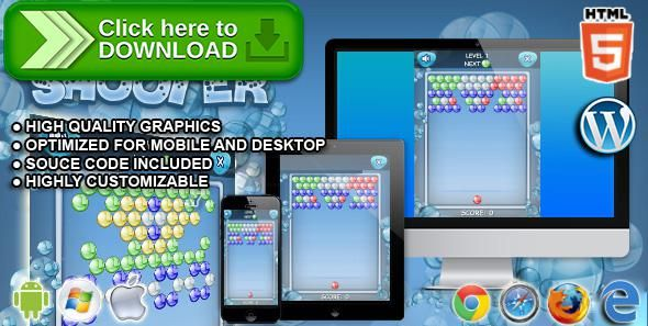 [ThemeForest]Free nulled download Bubble Shooter - HTML5 Games from http://zippyfile.download/f.php?id=39611 Tags: ecommerce, android, android game, ball, color matching, game, ios, iOS GAME, match 3, matching, matching 3, mobile, puzzle, puzzle bobble, puzzle game