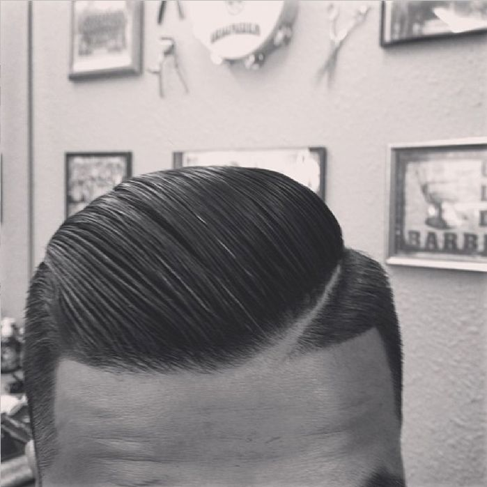 Amazing combover by @norcalbarbers