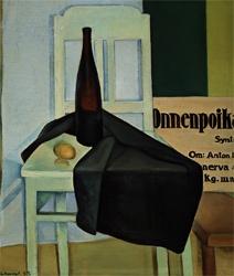 VILHO LAMPI Still Life (Lucky Fellow) (1933)