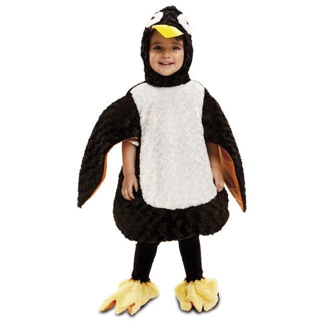 Disfraz Pingüino Peluche para niño y niña #disfraces #carnaval #novedades2017