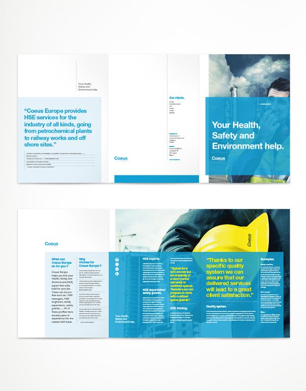 Coeus Europe corporate folder