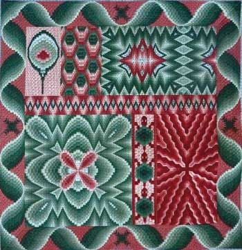 Beautiful Bargello Sampler (canvaswork)