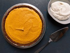 This genteel dessert is a lighter and more refined version of plain old pumpkin pie