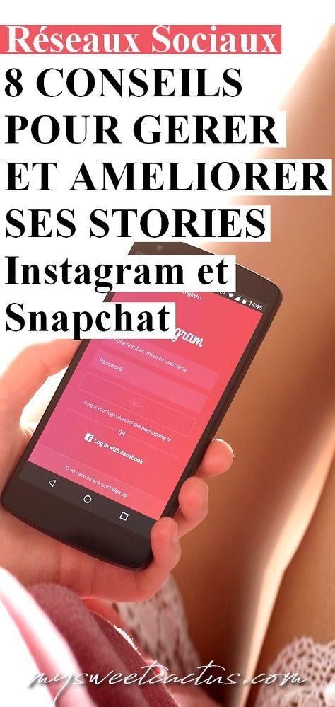 Réseaux sociaux : conseils et astuces pour gérer et améliorer ses stories sur Instagram, Snapchat et Facebook. Booster votre communauté et faite venir vos followers sur votre site. #stories #instagram #snapchat #réseauxsociaux #blogueuse #blogging #bloggingtips