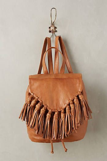 Lee Fringed Backpack