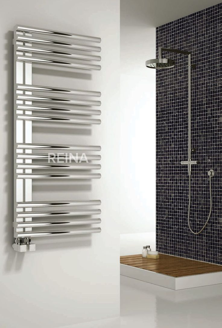 The Reina Adora heated towel rail is finished in a high polished stainless steel, with it being manufactured from stainless it comes complete with a 20 year guarantee. The Adora has arms which maximise towel hanging space and the arms can go to the left or right. This product is also available with the option of a dual fuel heating element & electric only option. The dual fuel operates via an electric supply when your central heating is turned off in the summer months. Prices from £414.41…