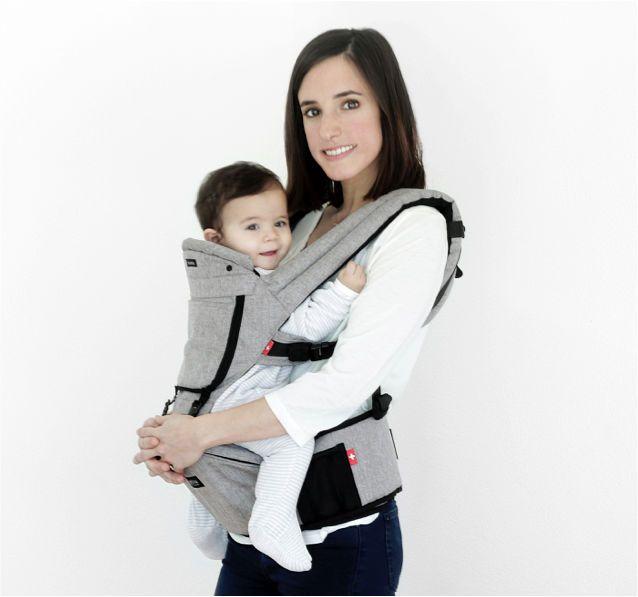 赤ちゃんを背負うための「抱っこひも」は年々進化しており、背中だけでなく胸元で抱っこできるものはごくありふれています。しかし、ほとんどの抱っこひもは赤ちゃんを抱っこする親の快適性を重視しているのに対