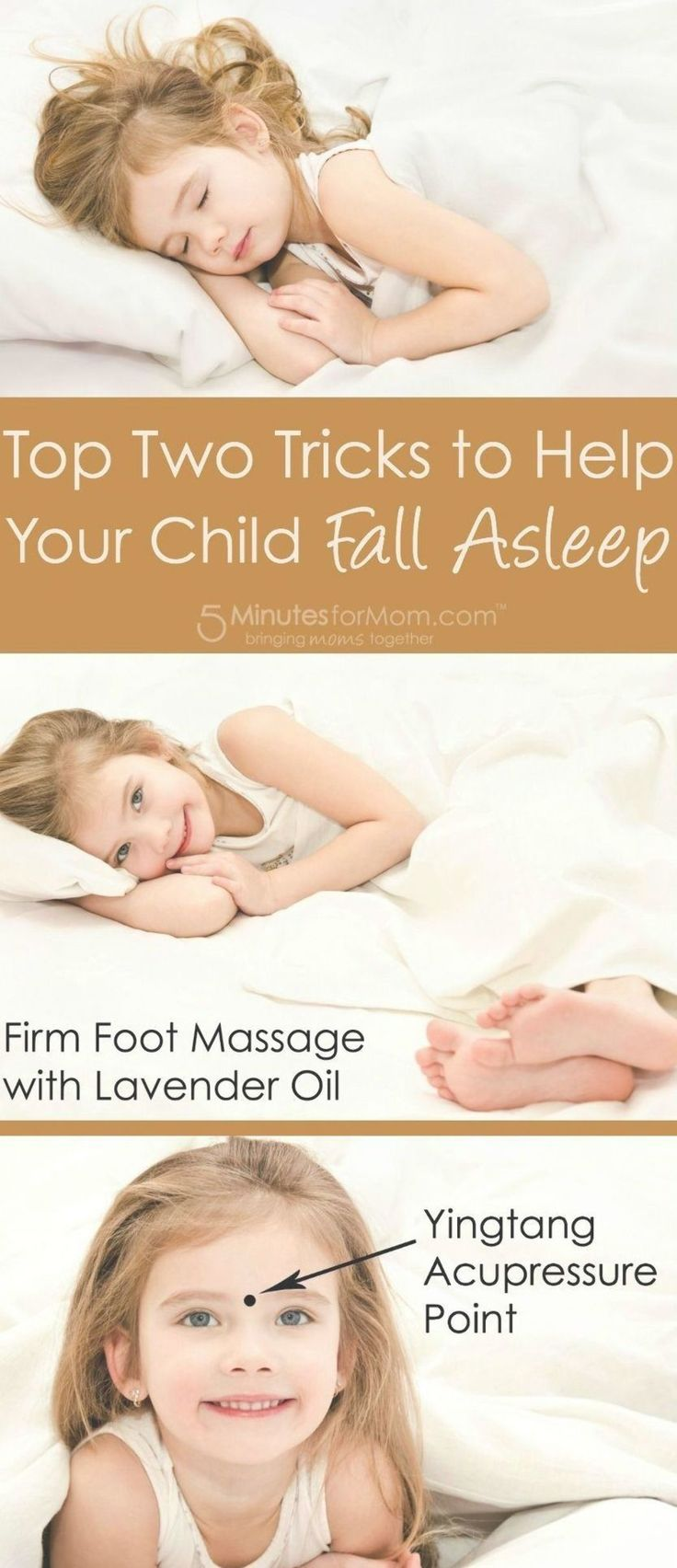 Wondering how to get your child to fall asleep faster? Try ...
