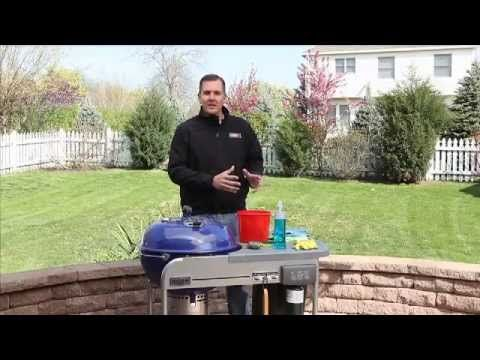 How to: Cleaning a Charcoal Grill