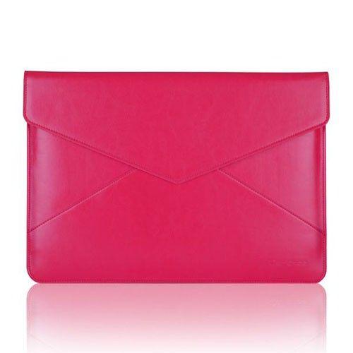Air Mail (Pinkki) 13'' Läppärin Nahkatasku