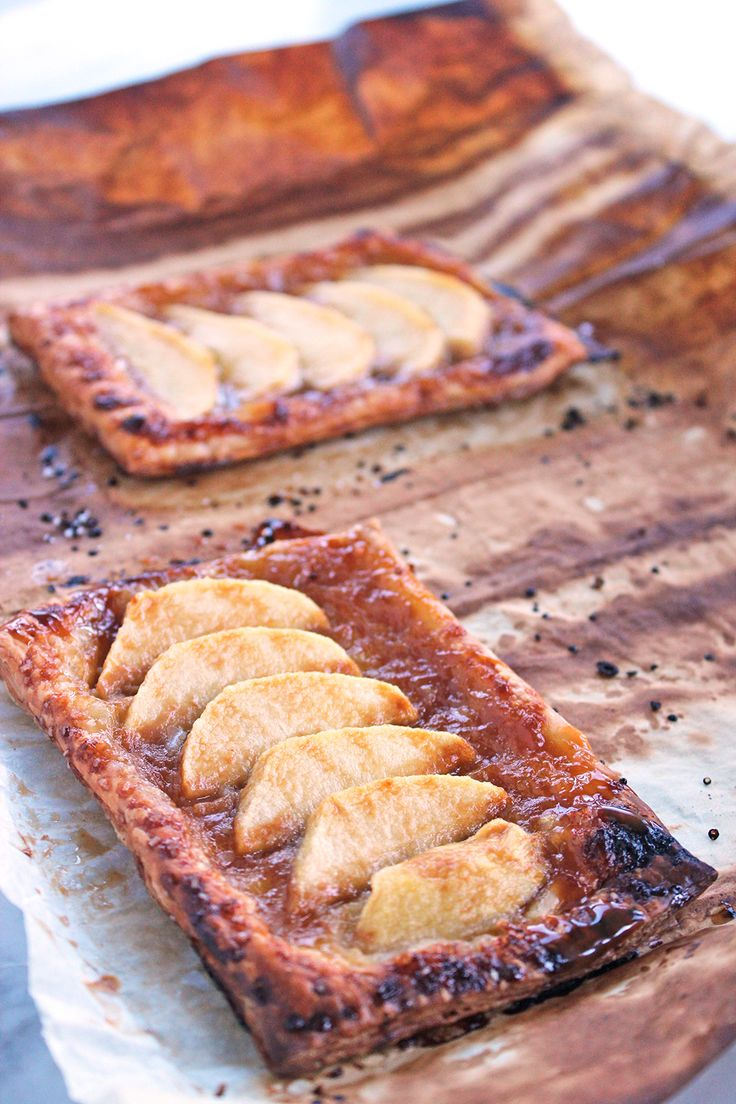 Welcome to our third and final round of our Battle of the Apple Tarts! Today's recipe is for Salted Caramel French Apple Tarts. My mouth is watering…
