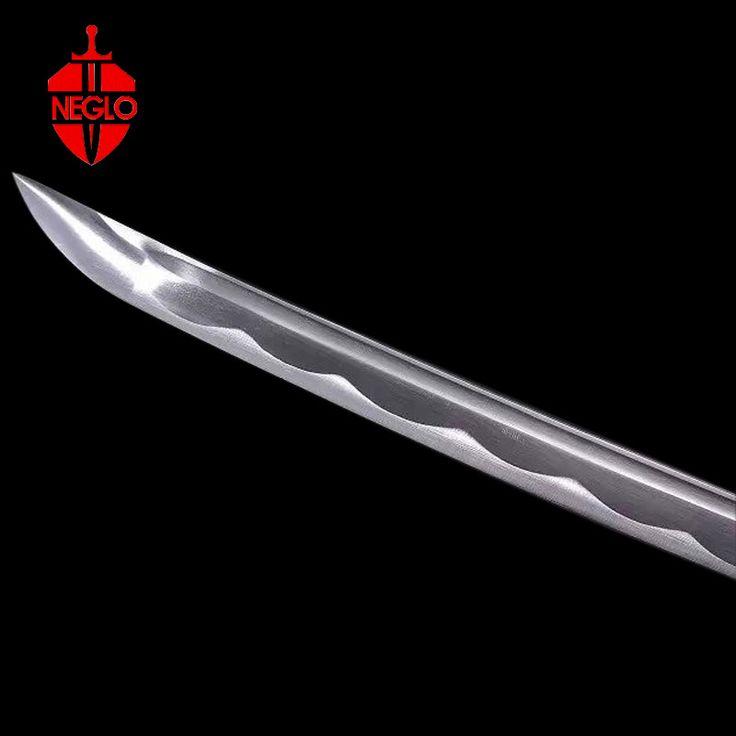 HOT Black Ninja Katana Japanese Sword Sheath Carbon Black Handmade .