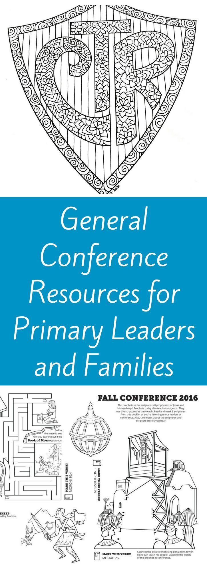 General Conference Resources for Primary Leaders and Parents | learnaswego.org