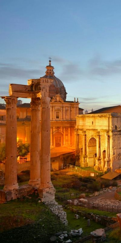 The Roman Forum ~ Rome, Italy