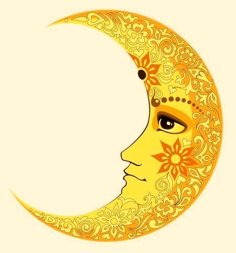 Henna 70s moon