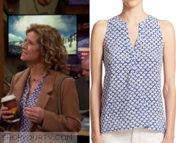 """Last Man Standing: Season 6 Episode 17 Vanessa's Blue Blouse 