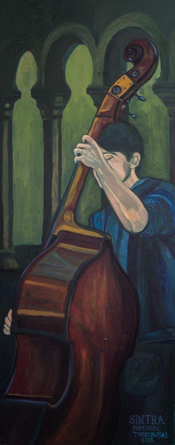 Original oil painting glaze  Sintra  2015 by PaintingThomasMrozow