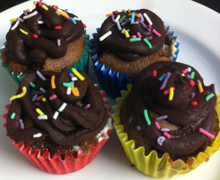 Quick chocolate icing. Check out our video below!