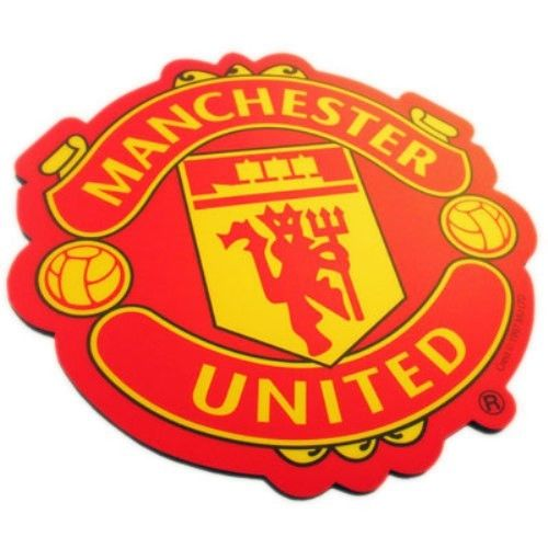 Manchester United Club Crest Mousemat