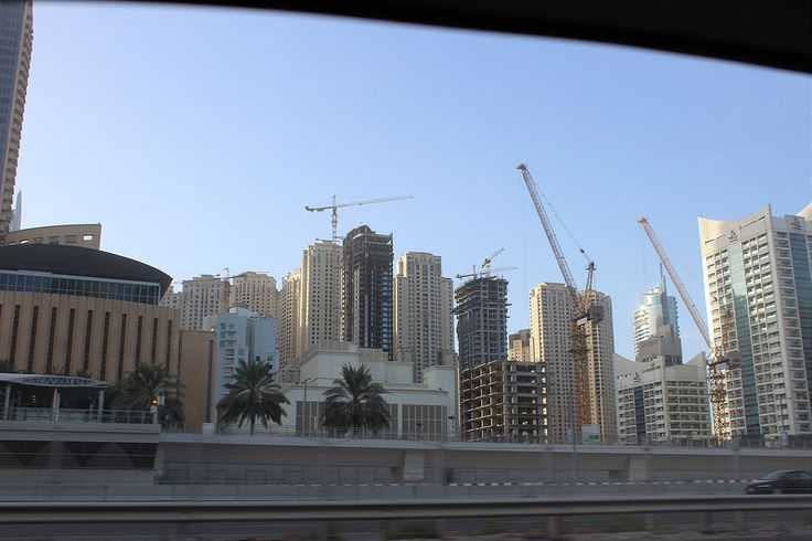Dubai from the road 3 Thinking of visiting Dubai? GET THE BEST DEALS ON ACCOMMODATION IN DUBAI HERE Our hotel…