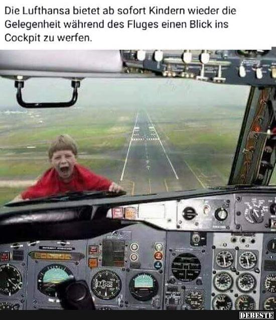 Die Lufthansa bietet ab sofort Kindern wieder..