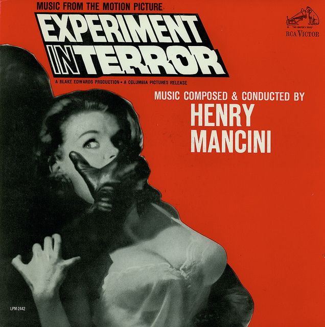 Henry Mancini - Experiment In Terror (1962) You've probably heard this theme hundreds of times and didn't know it was from this movie. One of Mancini's best.