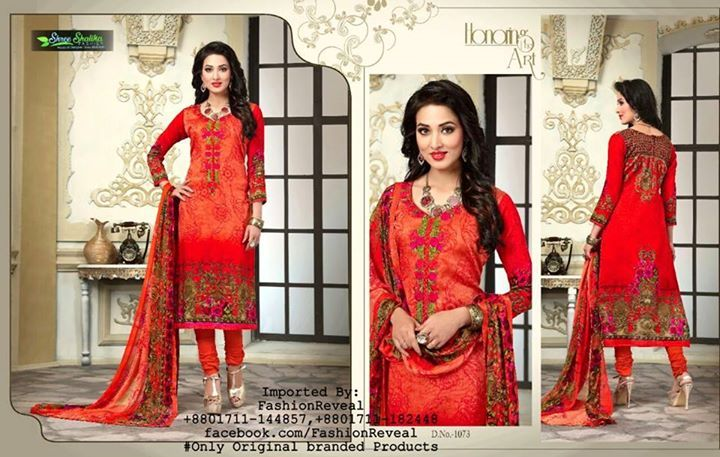 ORIGINAL INDIAN PRODUCTS. ----------- Beware of duplicate products in the market !!! **We(Fashion Reveal ) sell only original INDIAN & PAKISTANI branded products. #Quality & #originality guaranteed. Order System:To order,You have to message us mentioning 'product code','your address' and 'contact no'. or Call us (01711-144857,01711-182448) or purchase from: #SHOP-01: 93/A NEW CIRCULAR ROAD,MOUCHAK,DHAKA-1217 #SHOP-02: House-01,Road-10,ALTA PLAZA,DHANMONDI,DHAKA