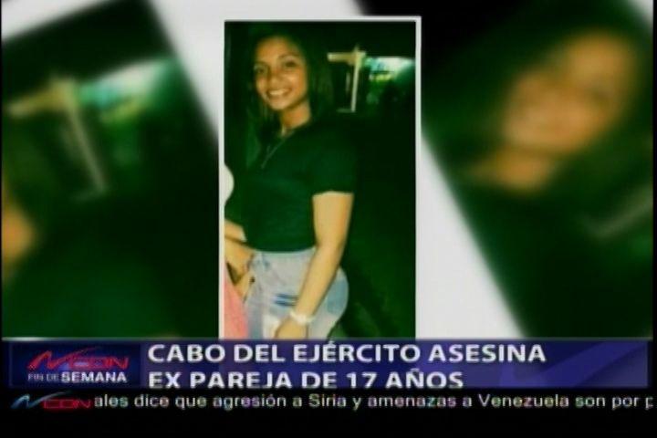 Cabo Del Ejército Asesina A Su Ex Pareja De 17 Años E Intenta Suicidarse