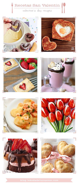 Discover 8 Recipes to triumph Valentine's Day    // Descubre 8 Recetas para triunfar este San Valentín