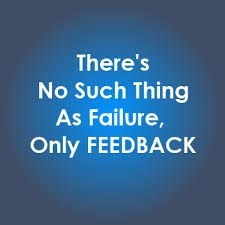 Image result for failure is feedback quote