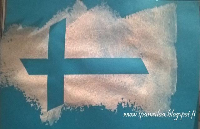 askartelua: Suomenlippu