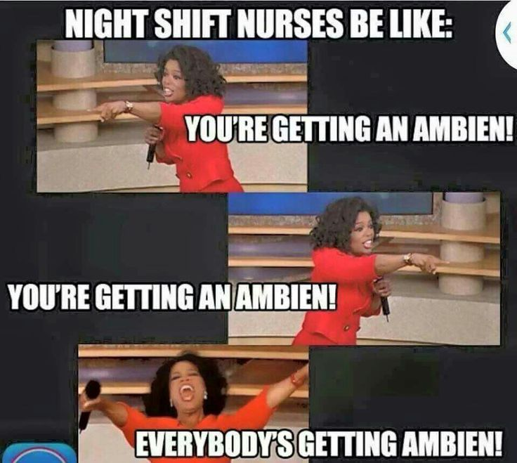 Everybody's getting ambien...yay!!!!