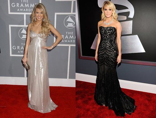 Then & Now: Grammy Artists' First Red Carpet Looks | Photo Gallery - Yahoo! Shine grammys -  american idol,  #beauty -  #dress,  #red carpet