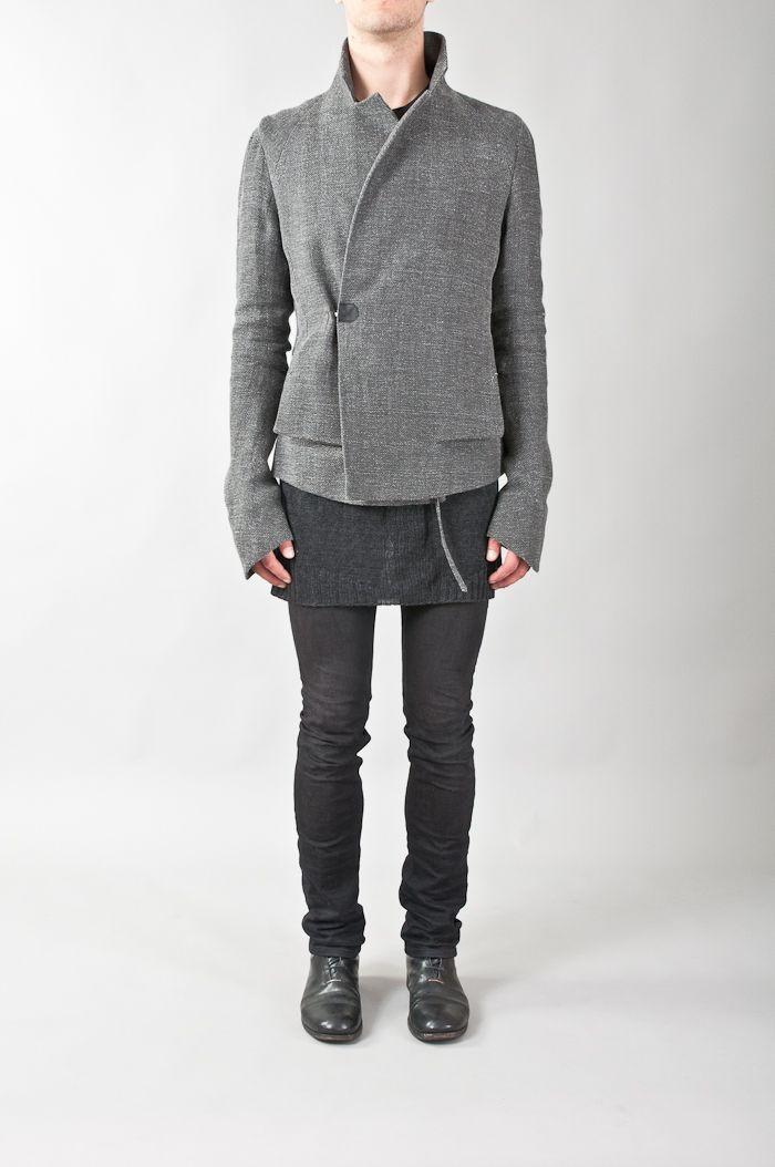 Yohan Serfaty linen & cotton jacket — re. porter