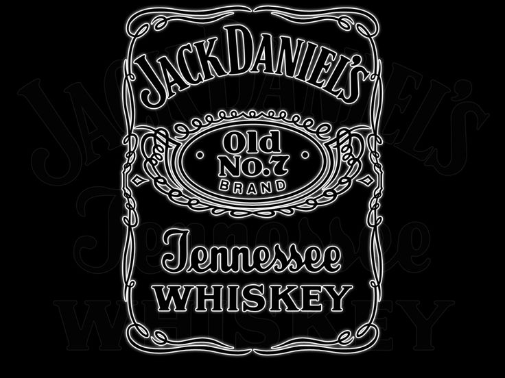 printable jack daniels logo. Black Bedroom Furniture Sets. Home Design Ideas