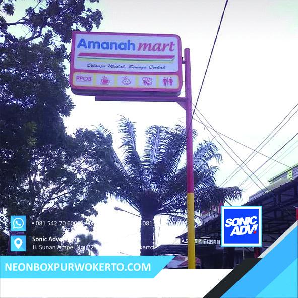 De Sain Neon Box: Neon Box Minimarket Purwokerto