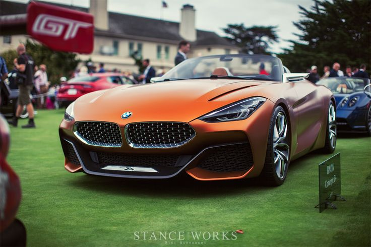 Unveiled - The BMW Concept Z4 Roadster - StanceWorks