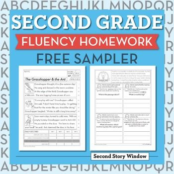 This is a free sampler of 2nd Grade Fluency Homework. It contains 5 weeks of homework. There are 10 pages included in the sampler. There is an example of 5 levels of passages included in our Second Grade Fluency Homework.