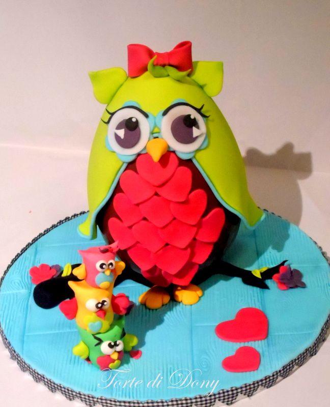 Cake Owl Pinterest