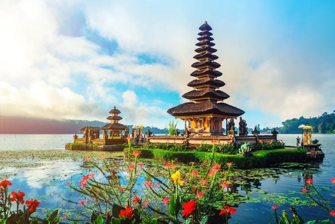Templo de  Pura Ulun Danu Batur, en Bali
