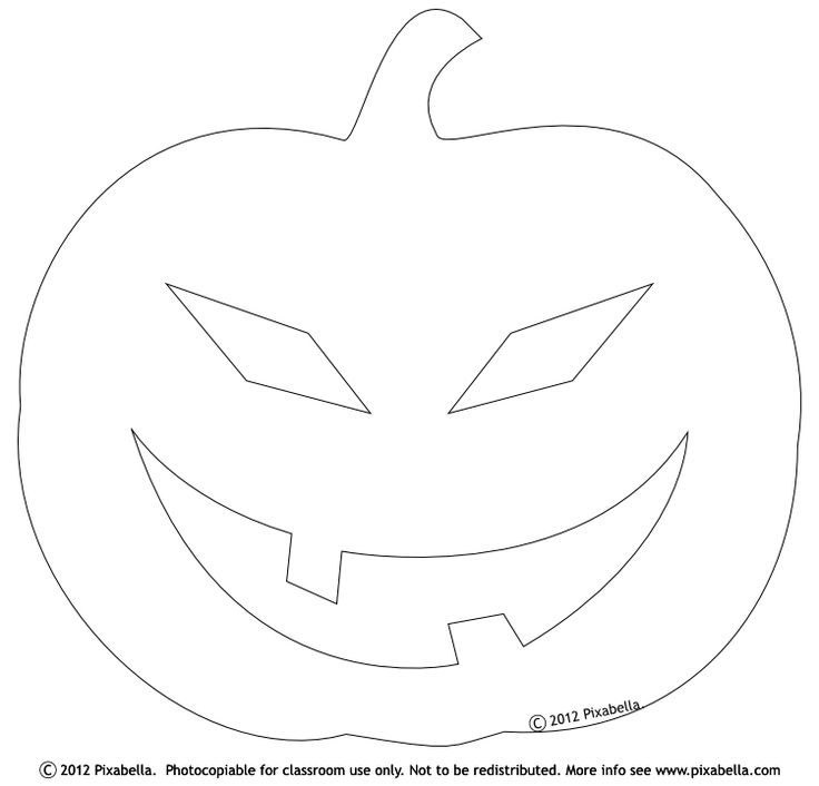 The 25+ best Pumpkin template printable ideas on Pinterest - blank face template printable