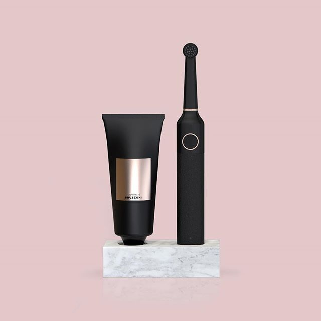 BLACK is BACK! 🔝♠️✔️🔜 BRUZZONI's first product in The Wall Street Collection - Electric Toothbrush. Singel display in marble. Join us and take the first step to a Better Looking bathroom. #bruzzoni #bruzzoniglobal #electrictoothbrush #toothbrush #marble #display #blackisback #black #design #designs #bathroom #bathroominspiration #bathroominspo #interior #interiordesign #tandborste #badrumsinredning #badrumsinspiration #inspiration #rosegold #badrum #betterlooking