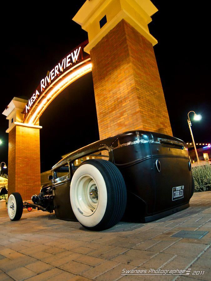 1931 FORD MODEL A COUPE HOT ROD RAT ROD