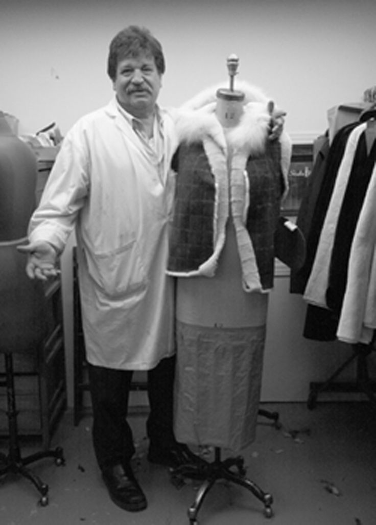 Terry Vourantonis, fur designer.