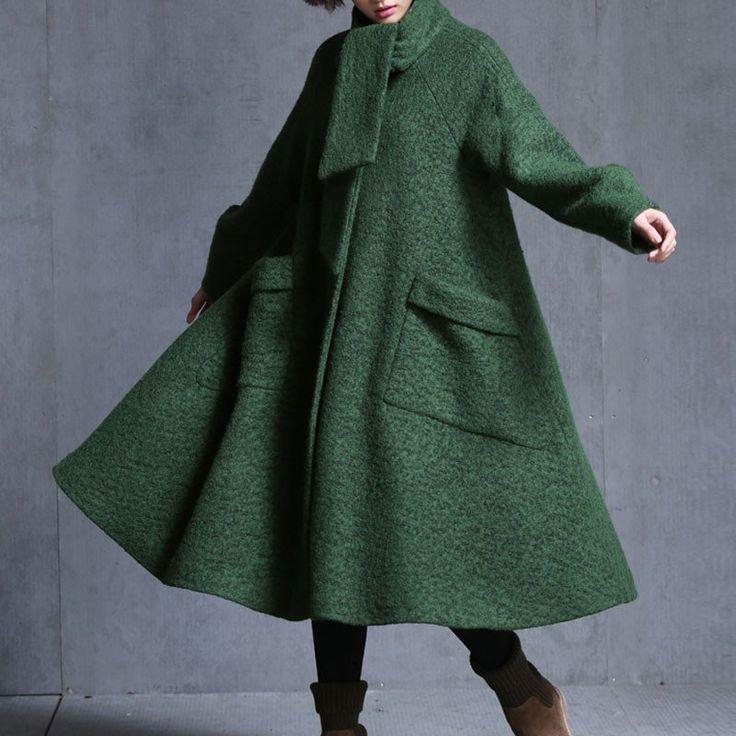 Woolen Loose Jacket
