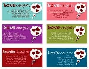 coupon book idea