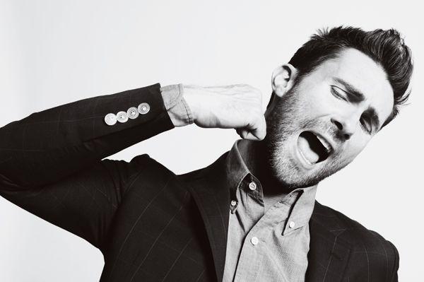 Adam Levine - Black and White