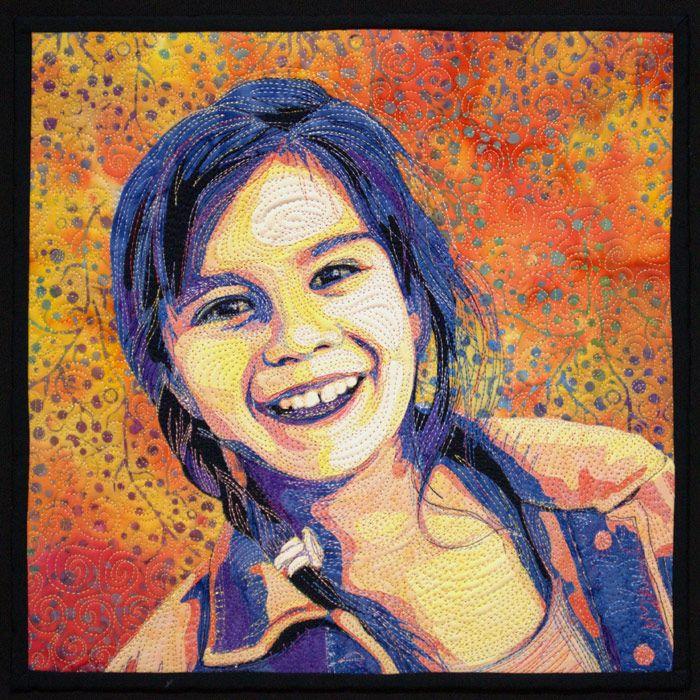 10 Best images about Portrait Quilts on Pinterest | Amazing art ... : portrait quilts - Adamdwight.com